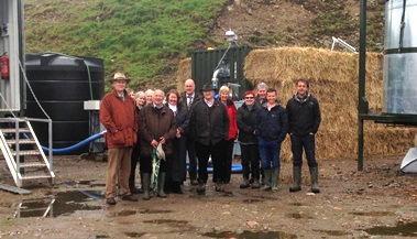 The National Parks Planning Committee on site at the AMW-IBERS conversion plant
