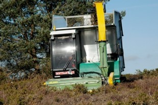 Harvesting heather to trial for energy production